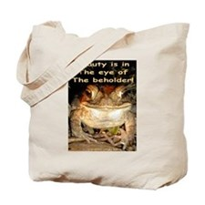 Beautiful Toad Tote Bag