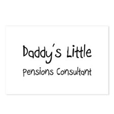Daddy's Little Pensions Consultant Postcards (Pack