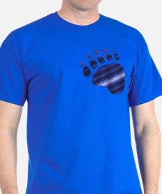 FURRY LEATHER PRIDE BEAR PAW/P T-Shirt