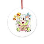 Mommy Needs Sleep Keepsake (Round)