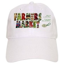 Farmers Market Baseball Cap (adjustable)