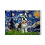 Starry Night /Schnauzer(#8) Mini Poster Print