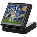 Starry Night /Schnauzer(#8) Keepsake Box