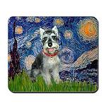 Starry Night /Schnauzer(#8) Mousepad