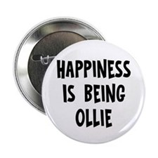 "Happiness is being Ollie 2.25"" Button (10 pack)"