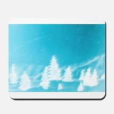 Blue Forest Mousepad