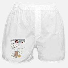 WHITE CHRISTMAS Boxer Shorts