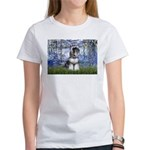 Lilies (#6) & Schnauzer #7 Women's T-Shirt