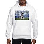 Lilies (#6) & Schnauzer #7 Hooded Sweatshirt