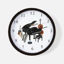 Cute Music note Wall Clock