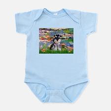 Lilies (#2)/Schnauzer Pup Infant Bodysuit