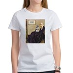Whistler's Mother /Schnauzer Women's T-Shirt