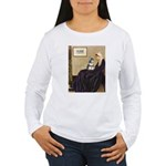 Whistler's Mother /Schnauzer Women's Long Sleeve T