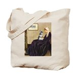 Whistler's Mother /Schnauzer Tote Bag