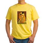 Kiss / Schnauzer (#7) Yellow T-Shirt