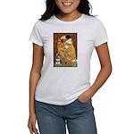 Kiss / Schnauzer (#7) Women's T-Shirt