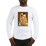 Kiss / Schnauzer (#7) Long Sleeve T-Shirt