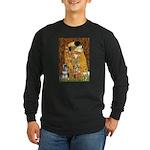 Kiss / Schnauzer (#7) Long Sleeve Dark T-Shirt