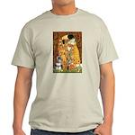 Kiss / Schnauzer (#7) Light T-Shirt