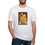 Kiss / Schnauzer (#7) Fitted T-Shirt