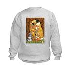 Kiss / Schnauzer (#7) Kids Sweatshirt