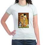 Kiss / Schnauzer (#7) Jr. Ringer T-Shirt
