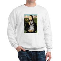 Mona Lisa's Schnauzer (#1) Sweatshirt