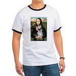 Mona Lisa's Schnauzer (#1) Ringer T