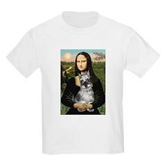 Mona Lisa's Schnauzer (#1) T-Shirt