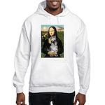 Mona Lisa's Schnauzer (#1) Hooded Sweatshirt