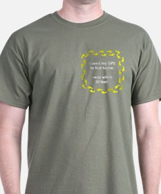 Geocacher Going Home T-Shirt