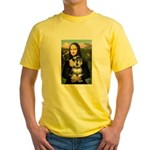 Mona Lisa's Schnauzer (#6) Yellow T-Shirt