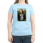 Mona Lisa's Schnauzer (#6) Women's Light T-Shirt