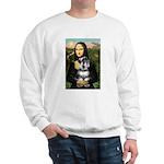 Mona Lisa's Schnauzer (#6) Sweatshirt