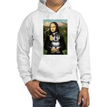 Mona Lisa's Schnauzer (#6) Hooded Sweatshirt