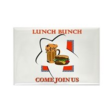 LUNCH BUNCH - Come Join Us Rectangle Magnet