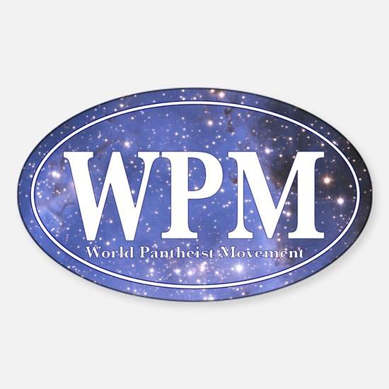 WPM Sticker (Oval)