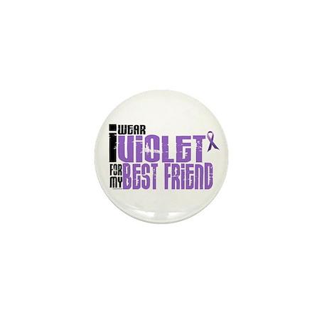 I Wear Violet For My Best Friend 6 Mini Button