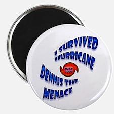 Hurricane Dennis the Menace Magnet