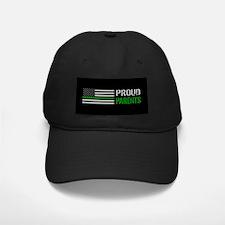 U.S. Flag Green Line: Proud P Baseball Hat