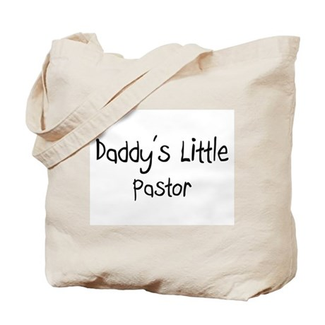 Daddy's Little Pastor Tote Bag