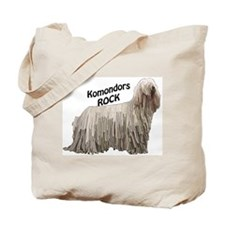 komondor rocks Tote Bag