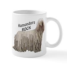 komondor rocks Mug