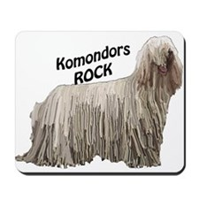 komondor rocks Mousepad