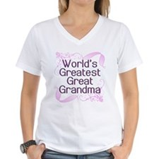 World's Greatest Great Grandma Shirt