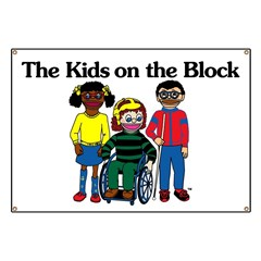 The Kids on the Block Banner