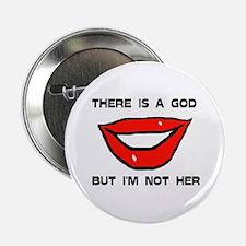 """WOMAN GOD 2.25"""" Button"""