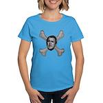 NumbSkull And Bones Women's Dark T-Shirt