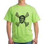 NumbSkull And Bones Green T-Shirt