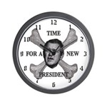 NumbSkull And Bones Wall Clock